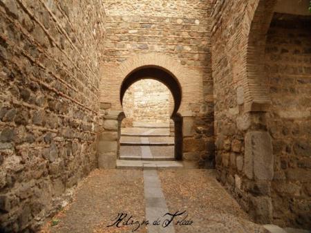 Interior de la Puerta de Alcantara