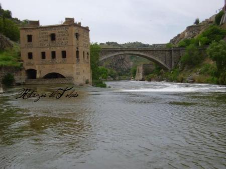 Puente Nuevo y antiguo molino Cervantes