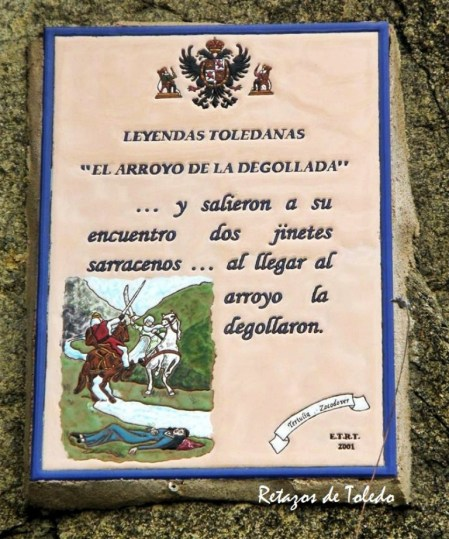 Placa de leyenda toledana